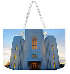 Temple Work Weekender Tote Bag