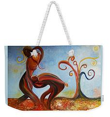 The Fall Weekender Tote Bag