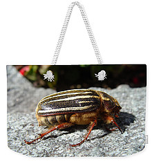Ten-lined June Beetle Profile Weekender Tote Bag