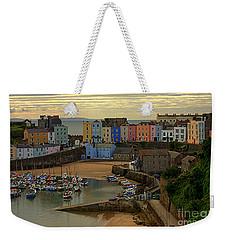 Tenby Harbour In The Morning Weekender Tote Bag