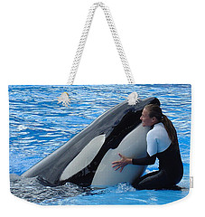Weekender Tote Bag featuring the photograph Tender by David Nicholls