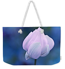 Tender Morning With Lotus Weekender Tote Bag