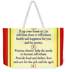 Tenfold Path Of Divinity Weekender Tote Bag