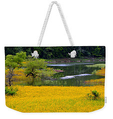 Tennessee Black-eyed Susan Field Weekender Tote Bag by Kathy Barney