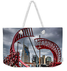 Tennessee - Nashville Through Sculpture Weekender Tote Bag