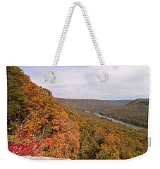 Weekender Tote Bag featuring the photograph Tennessee Riverboat Fall by Paul Rebmann