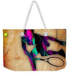 Tennis Painting Weekender Tote Bag