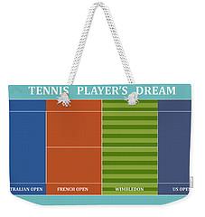 Tennis Player-s Dream Weekender Tote Bag