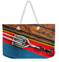 Tension On The Sailing Vessel Weekender Tote Bag