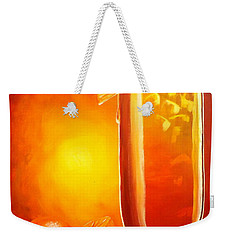 Tequila Sunrise Weekender Tote Bag by Darren Robinson