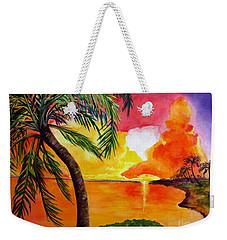 Tequila Sunset Weekender Tote Bag