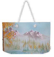 Termination Dust Weekender Tote Bag