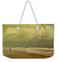 Terns In The Clouds Weekender Tote Bag