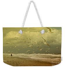 Terns In The Clouds Weekender Tote Bag by Deborah Benoit