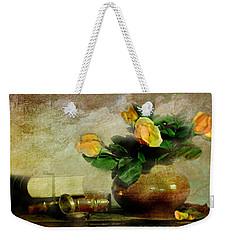 Terra Cotta Rose Weekender Tote Bag