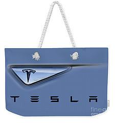 Tesla Model S Weekender Tote Bag