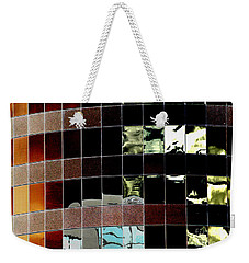 Weekender Tote Bag featuring the photograph Tetris by Christiane Hellner-OBrien