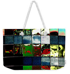 Weekender Tote Bag featuring the photograph Tetris II by Christiane Hellner-OBrien