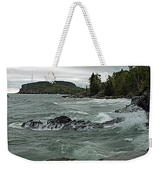 Tettegouche State Park Weekender Tote Bag by James Peterson