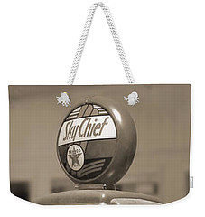 Tokheim Gas Pump 2 Weekender Tote Bag by Mike McGlothlen