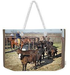 Bonds Branding Weekender Tote Bag