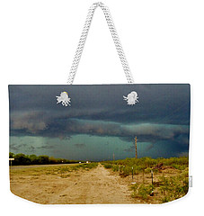 Texas Blue Thunder Weekender Tote Bag