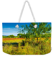 Texas Hill Country Wildflowers Weekender Tote Bag