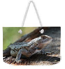 Texas Lizard Weekender Tote Bag
