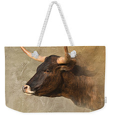 Texas Longhorn # 3 Weekender Tote Bag by Betty LaRue