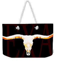 Texas Longhorns By Sharon Cummings Weekender Tote Bag by Sharon Cummings