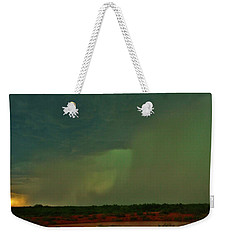 Texas Microburst Weekender Tote Bag by Ed Sweeney