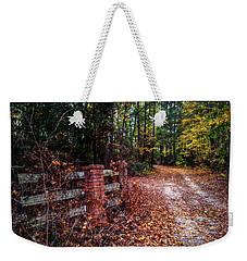 Texas Piney Woods Weekender Tote Bag by Linda Unger