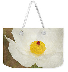 Texas Prickly Poppy Wildflower Weekender Tote Bag