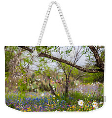 Texas Roadside Wildflowers 732 Weekender Tote Bag by Melinda Ledsome