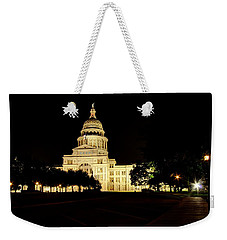 Texas State Capitol Weekender Tote Bag by Dave Files