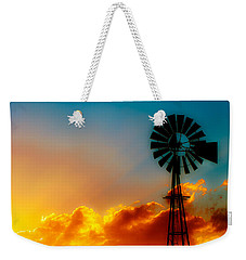 Texas Sunrise Weekender Tote Bag