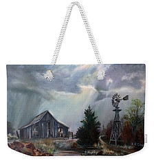 Texas Thunderstorm Weekender Tote Bag