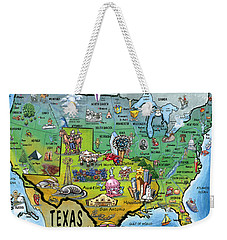 Texas Usa Weekender Tote Bag by Kevin Middleton