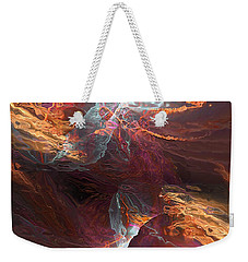 Texture Splash Weekender Tote Bag by Margie Chapman