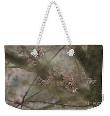Textures Of Spring Weekender Tote Bag