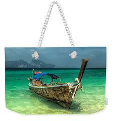 Thai Boat  Weekender Tote Bag