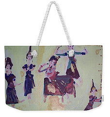 Thai Dance Weekender Tote Bag by Judith Desrosiers