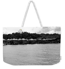 Weekender Tote Bag featuring the photograph Thai Village by Andrea Anderegg