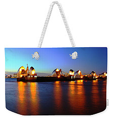 Weekender Tote Bag featuring the photograph London Thames River by Mariusz Czajkowski
