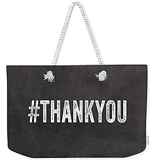 Thank You- Greeting Card Weekender Tote Bag
