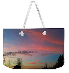Weekender Tote Bag featuring the photograph Thankful For The Day by Linda Bailey