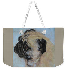 Pug's Worried Look Weekender Tote Bag