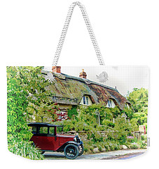 Thatched Cottages At Reybridge Weekender Tote Bag