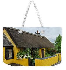 Thatched House Ireland Weekender Tote Bag by Brenda Brown