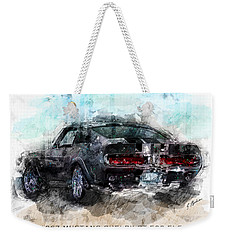 The 1967 Shelby Gt-500 Eleanor Weekender Tote Bag